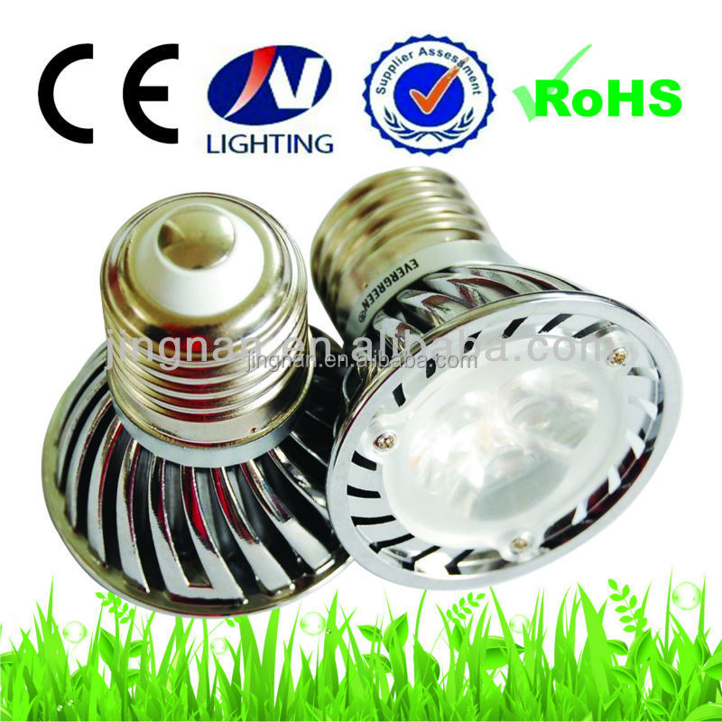 Dimmable LED Spotlights bulb 3W 5W Warm White Red Green Blue Yellow E27 GU10