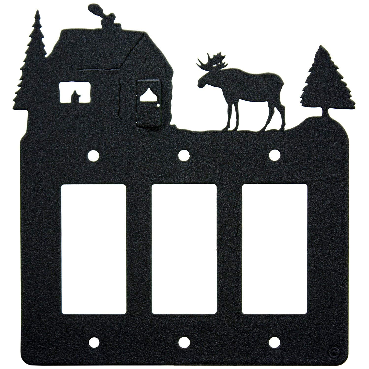 Cheap Triple Light Switch Find Deals On Line At Moose Cabin 3 Gang Rocker Gfci Power Outlet Plate