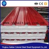 Color steel sandwich panel fire prevention, thermal insulation EPS sandwich board