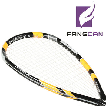 FANGCAN Darkness 7 H.M. Graphite Ultralight Carbon Fibre Squash Racket With String and Cover