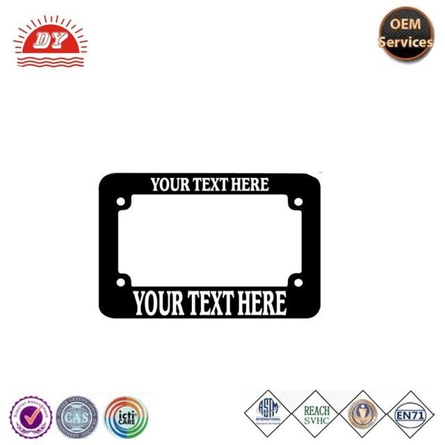 Promoción motocicleta placa marco, Compras online de motocicleta ...