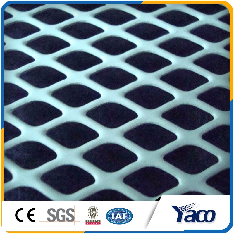 High quanlity flattened expanded metal mesh