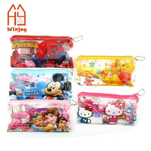 School mini students stationery sets