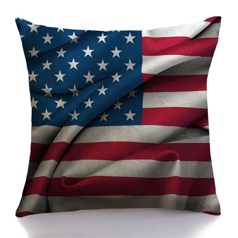 achetez en gros drapeau am ricain coussin en ligne des grossistes drapeau am ricain coussin. Black Bedroom Furniture Sets. Home Design Ideas