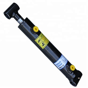 Hot deals welded double acting hydraulic cylinder with cross tube export to Spain