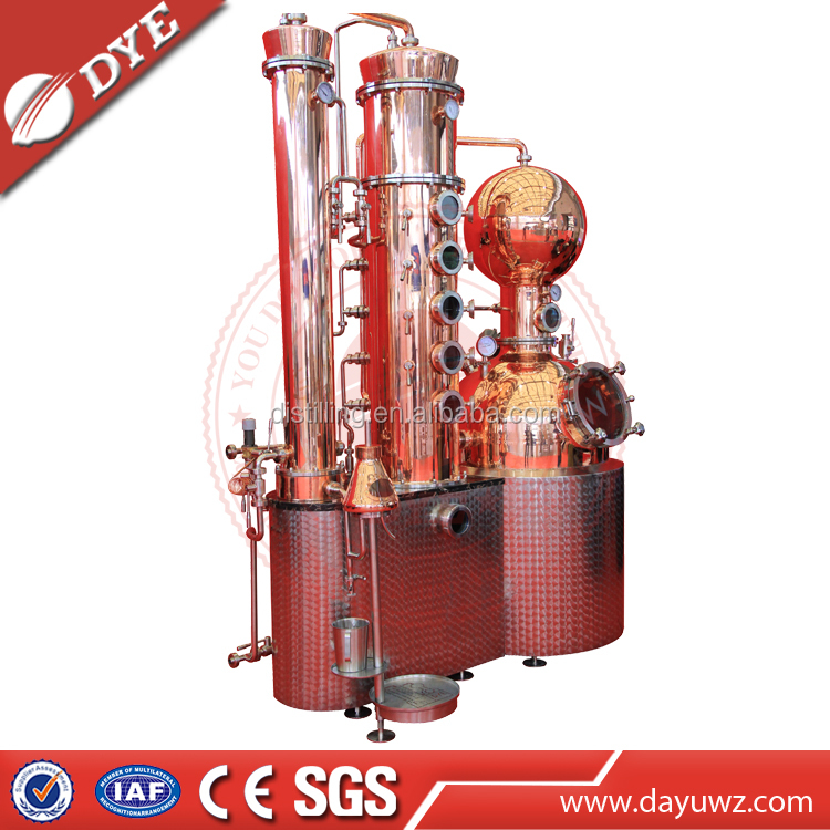 Copper China Distilled Machine industrial distillation column