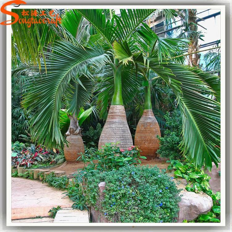 Todo tipo de palmera artificial de plantas tropicales y plantas de
