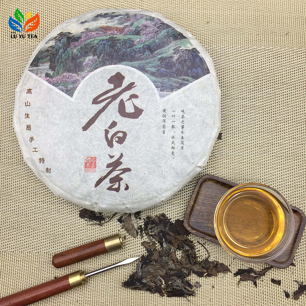 Fuding Premium Grade White Tea Gongmei Shoumei Fujian Spring Whitea Tea - 4uTea   4uTea.com