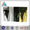 6-150 micron Silver Aluminum Polyester film For wrapping bags
