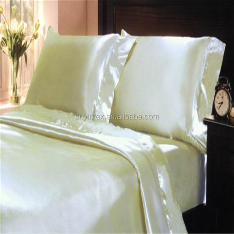 Silver Gray Silk Bedding Set Duvet Cover Silk Pillowcase Silk Sheet Luxury Bedding, Queen Size