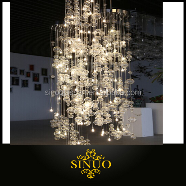 Artistic N Gl Bubble Chandeliers Hand Chandelier Modern Decorative Product