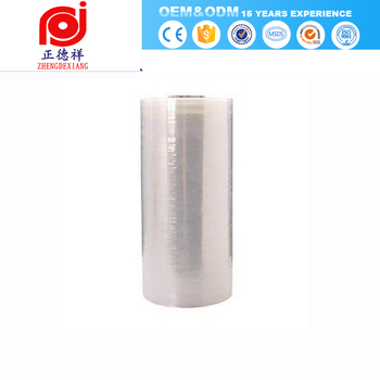 china products shrink wrap plastic wrap for moving stretch film