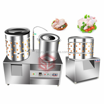 chicken plucker poultry Application and New Condition poultry slaughtering equipment