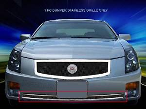 Fedar Lower Bumper Wire Mesh Grille for 2003-2007 Cadillac CTS