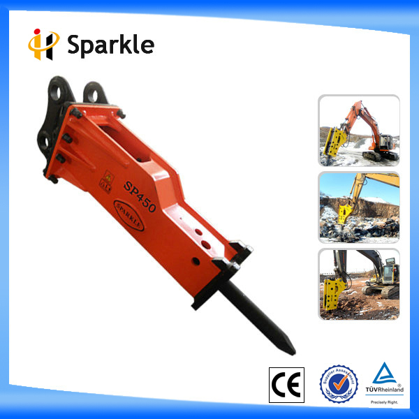 hydraulic breaker for excavator hydraulic stone rocking tool