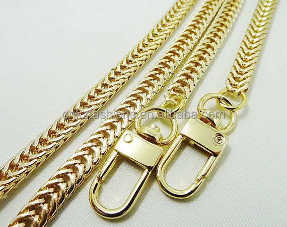 Purse Replacement Chains Chain Strap 7mm Gold