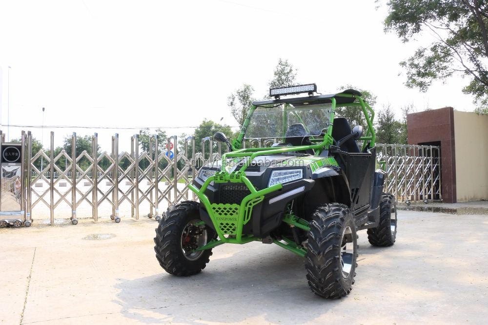 Powerful Cheap 400cc 2 seater UTV made in China