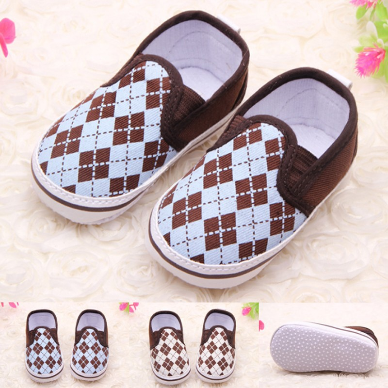 TSW3090 Sale baby shoes cotton fabric baby boy slip on toddler shoes