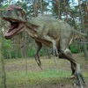 High Quality Outdoor Fiberglass Cartoon Dinosaur 3d Dinosaur Statue For Sale