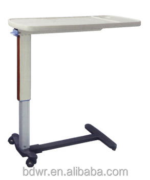 Adjustable Over Bed Table Hospital Over Bed Table Dining Table With