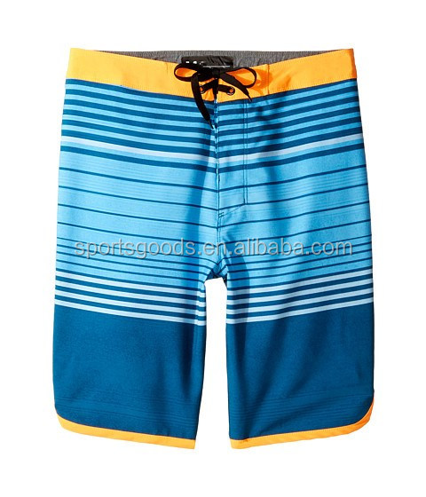 "Dry-fit digital print men""s board shorts with stretch cotton Dry-fit Men&quot"