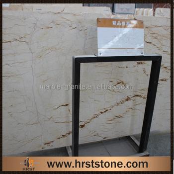 Fiberglass Imitation French Vanilla Marble Countertops