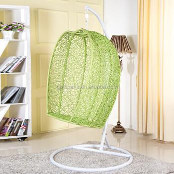 Uccello Verde Net Shape Indoor Sedie Sospese Per Camere Da Letto ...