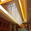 Customized big square crystal ball chandeliers luxury crystal chandelier lighting