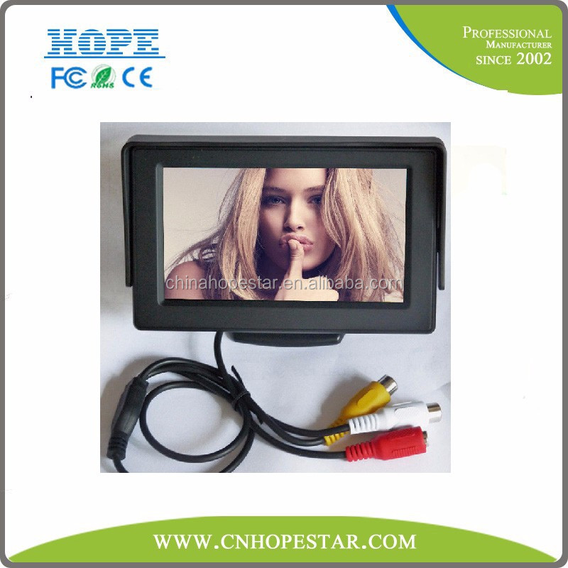 hot selling clear 4.3 mini inch cctv test monitor