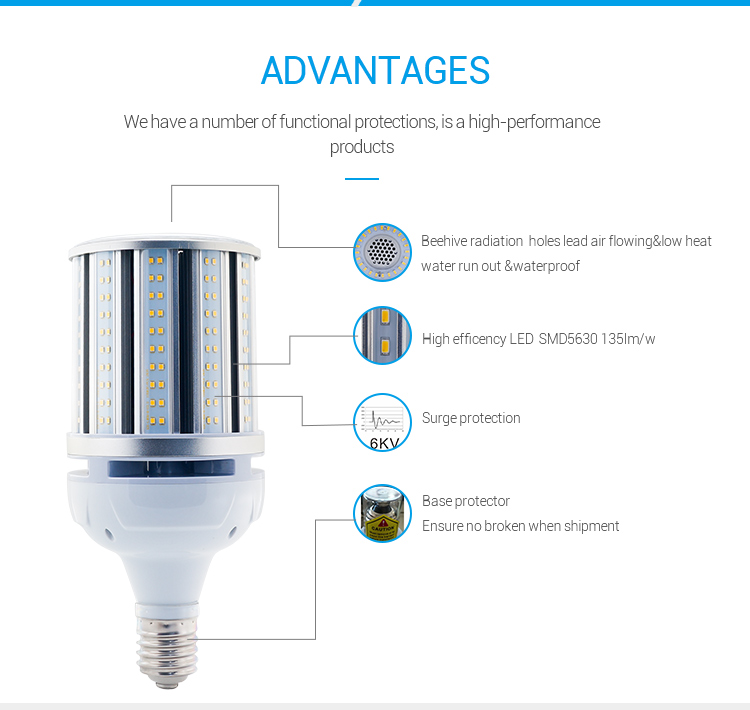 GK 100w led parking lot light LG5630 led roadway lamp E39 EX39 led street lights canada 13500lm in China