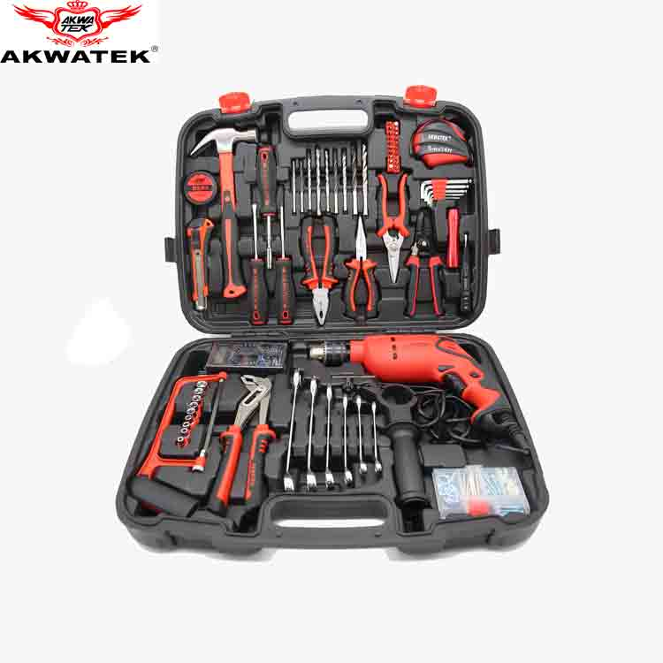 2018 high quality 110pcs DIY <strong>tool</strong> household <strong>tools</strong> impact drill set hand <strong>tool</strong> set