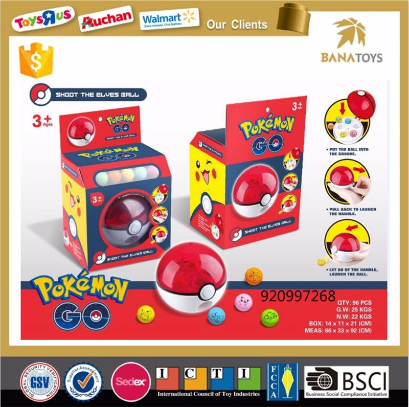 Anime game toys pokemon go ball pokeball