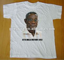 election campaign cotton printed t shirt