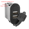 Newest 12 3.1A dual usb charger for JEEP JK CAR