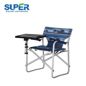 Promotion Foldaway wholesale directors chair with folding side table