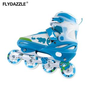 Derby rental suede roller skates professional canvas action inline 4 wheels