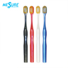 Nano Gold bristle wide head adult toothbrush