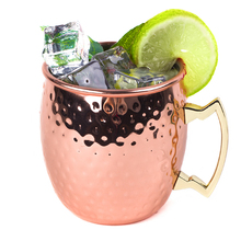 In Acciaio Inox Russo Moscow Mule Tazza di Birra Martellato Rivestimento In <span class=keywords><strong>Rame</strong></span> Tazze
