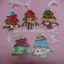 exquisite handicrafts christmas tree glass hanging ornaments