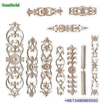 Elegant Decorative Wood Carving Furniture Liques And Onlays