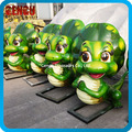 Restaurant Decoration Fiberglass Cartoon Dinosaur Statue