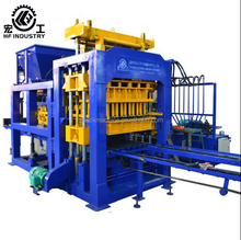 QT10-15 paving brick machine simple block making machine road brick laying machine