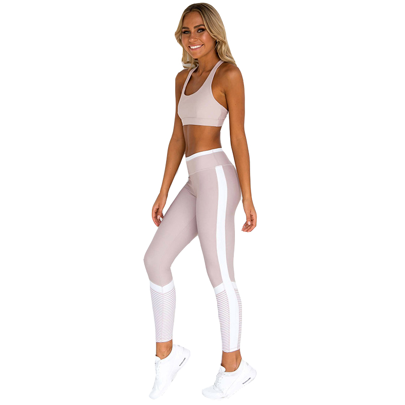Private label aktive workout eco kleidung gym kleidung set fitness yoga tragen frauen