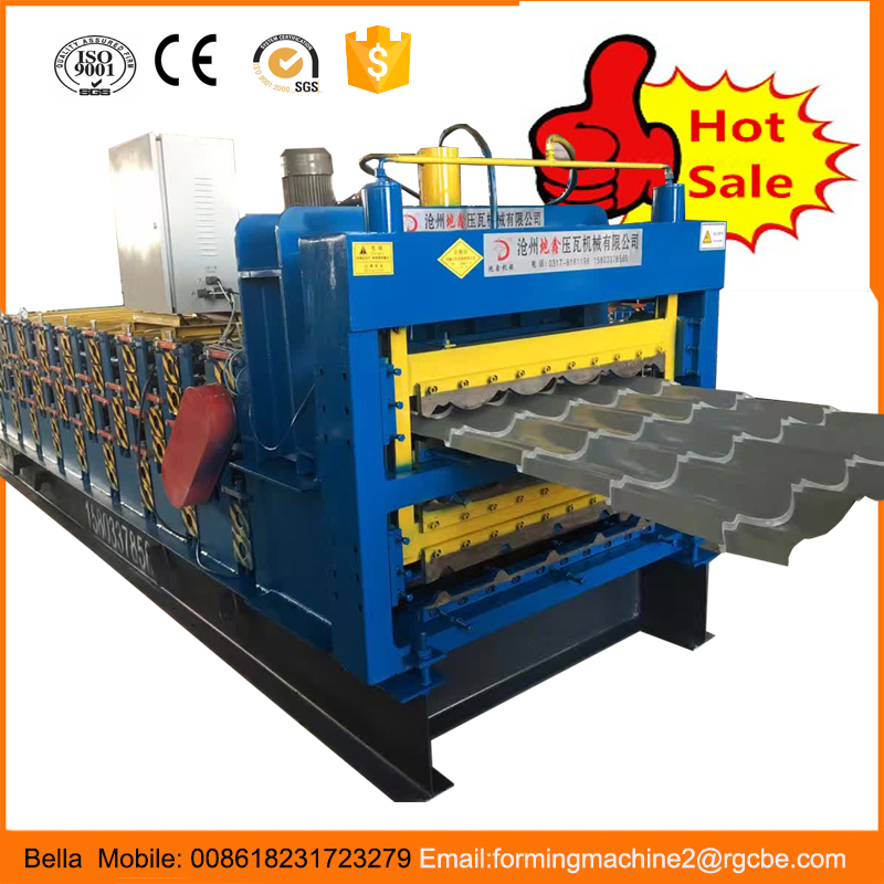 DX Galvanized Corrugated Iron Steel Sheet Cold Roll Forming Making Machine Hot Sales In India