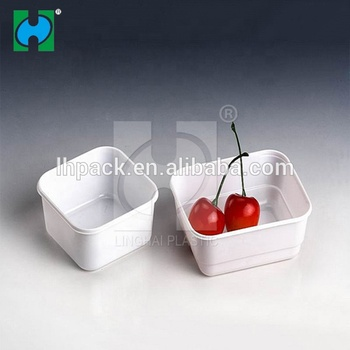 PS Factory Price Disposable Plastic Fresh Food Dry Fruit Decoration Plastic Packaging Tray