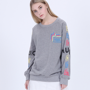 wholesale custom hoodies unisex pullover crewneck raglan sleeve printed latest design plain hoodies sweatshirts without hood