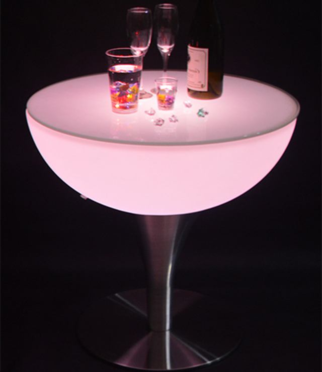 Led Furniture Wedding Coffee Cocktail Bar Table For Night Club home centre coffee tables