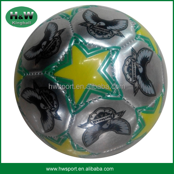 Custom Soccer Ball Pvc Leather Material Leather Soccer Ball