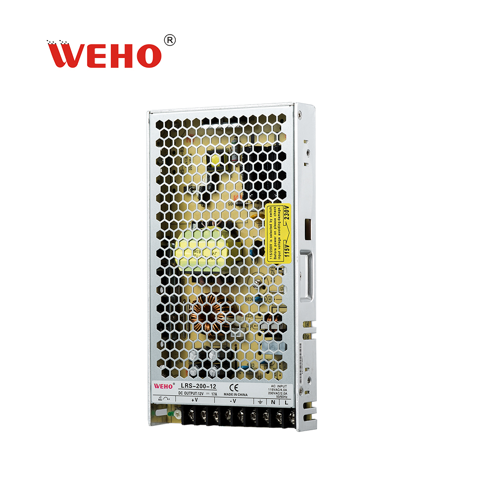 WEHO 200W switching power <strong>supply</strong> 24v 8.3a LRS-200-24