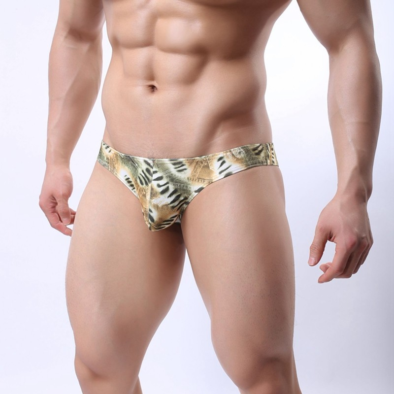 New Design brand underwear men briefs fashion acetate fiber Penis sexy underpants for male Gay/male/boys